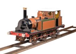 A well-engineered 5 inch gauge model of a 0-6-0 London Brighton and South Coast 'Boxhill' Terrier si