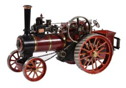 An exhibition standard 1 inch scale model of an Allchin Agricultural Traction engine 'Royal Chester'