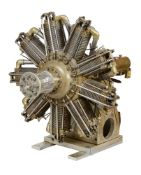 An exhibition standard 'Spen Forty' rotary aero engine
