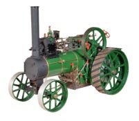 A well-engineered model of a 2 inch scale 6 nhp Durham and North Yorkshire Agricultural Traction eng