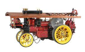 A well-engineered 2 inch scale model of a double crank compound Scenic Showman's engine 'Thetford To