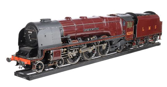 A very fine exhibition quality 7¼ inch gauge model of the Sir ...