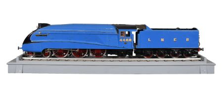 A fine exhibition quality 5 inch gauge model of a London North Eastern Railway A4 Pacific Class 4-6-
