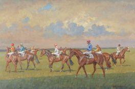 λ Neil Cawthorne (British b.1936)At the Start, Newmarket