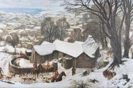James McIntosh Patrick (Scottish 1907-1998)An Exmoor Farm