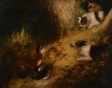 Edward Armfield (British 1817 - 1896)The Fox's Lair