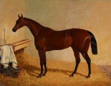 John Frederick Herring Senior (British 1795-1865)Mr William Orde's Beeswing in a stable
