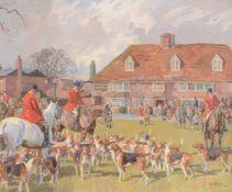 λ Peter Biegel (British 1913-1988), The Ashford Valley Hunt