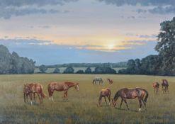 λ Neil Cawthorne (British b.1936)Mares and Foals