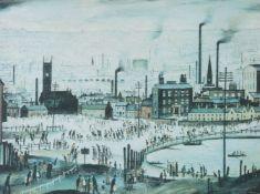 λ L.S. Lowry (British 1887–1976), An Industrial Town, 1944