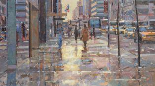 λ Bruce Yardley (British b.1962)Manhattan Reflections