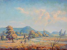 λ Walter Steggles (British 1908-1997), Upton Scudamore