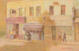 λ Hugh McKenzie (British 1909 - 2005)Parade of shops