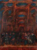 Alfred Cohen (British/American 1920-2001)La Comedienne de la Commedia dell'arte