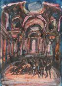 λ Alfred Cohen (British/American 1920-2001)Study for Comedienne de la Commedia dell'arte