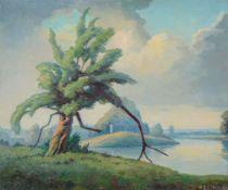 λ Walter Steggles (British 1908-1997), The Thames Near Henley