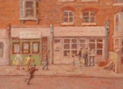 λ Hugh McKenzie (British 1909 - 2005)The Kenthouse Cafe