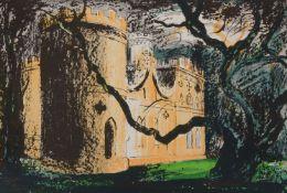 λ John Piper (British 1903-1922)Clytha Castle Lithograph