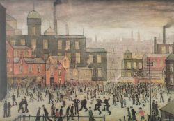 λ L.S. Lowry (British 1887–1976), Our Town, 1941