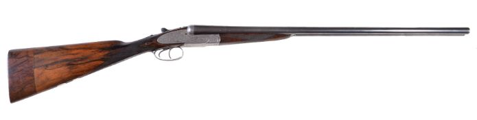 A J. Blanch & Sons double-barrelled 20-bore side-lock shotgun, serial no. 6602, the 26 inch
