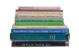 Reference Books covering British ceramics, including: Una des Fontaines, Wedgwood Fairyland