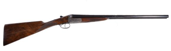 A J. Graham & Co. (Inverness) double-barrelled 12-bore boxlock shotgun, serial no. 81945, with