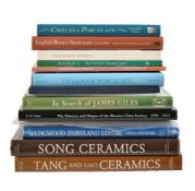 Assorted reference works covering world ceramics (16) Provenance: The Oxborrow collection.