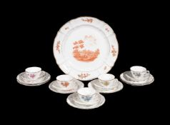 A selection of modern Nyphenburg porcelain, various dates mostly last quarter 20th century,
