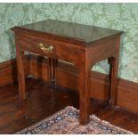 A George III mahogany Architect's table