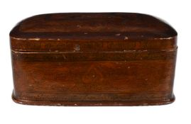 A Kashmir Polychrome-Painted Papier Mache Box North India circa 1900