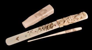 ϒ A Japanese Ivory Page Turner