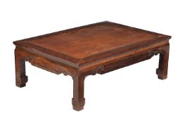 A Chinese Hongmu low table