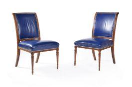 ϒ A set of ten Victorian rosewood dining chairs