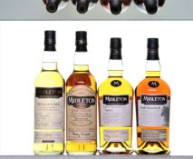 A collection of Midleton Whiskey