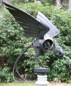 λ Walenty Pytel (Polish, b. 1941), Fantastic Bird