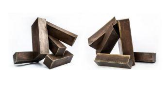 λ Xavier Corbero (1935-2017), Twin Abstract Sculptures