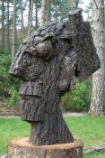 Doug Cocker RSA (Scottish, b. 1945), Grotesque Head II