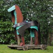 Antonia Spowers (British, b. 1934) Trojan Horse