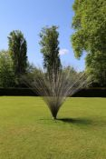 Richard CresswellWave 276 Stainless Steel rods310cm high