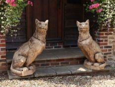 Jamie Simms and Jeremy Houghton, Heraldic Beasts
