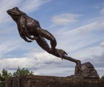 John Cox (British, 1952-2014), Leaping Frog