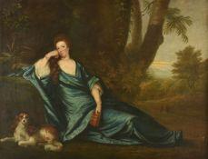 British School (18th century)The Suspicious Husband, Anna, Wife of Dr. Benjamin Hoadly (1719-88), Da