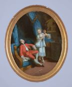 French School (18th century)Lovers' Tryst