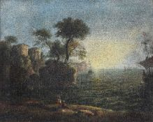 William Gill (British 19th century)Arcadian landscape