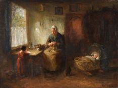 Bernard de Hoog (Dutch 1867-1943)Mother and Child