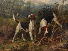 George Earl (British 1824-1908)Gone To Earth