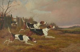 Colin Graeme (British 1858-1910)The chase