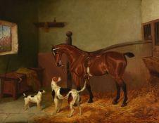 Colin Graeme (British 1850-1910)The Huntsman's favorites