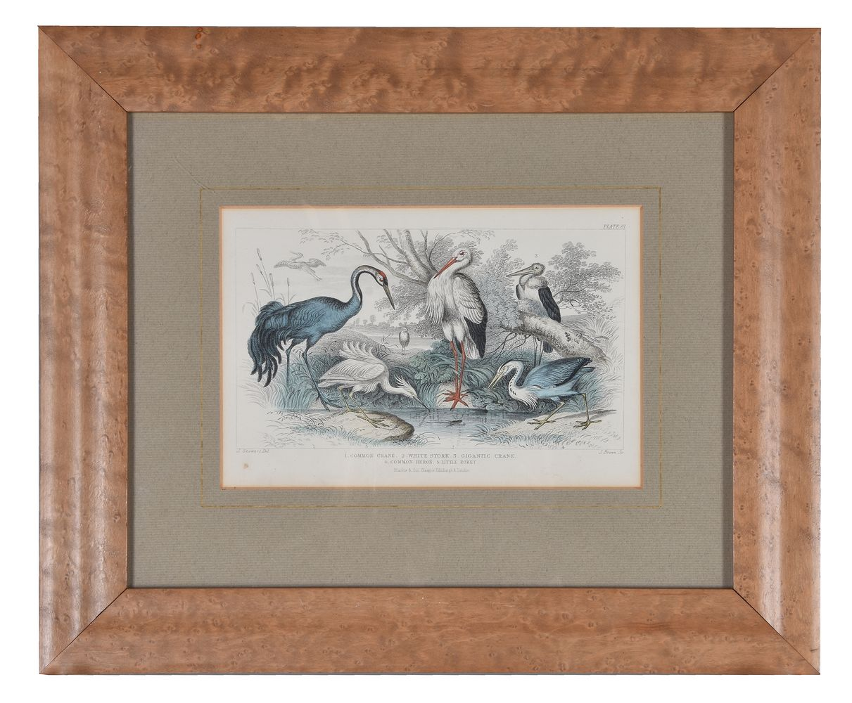 Lot 223 - A set of four prints after design by James Stewart and engraving by James Brown for James Stewart's