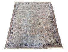 A woven Wilton carpet